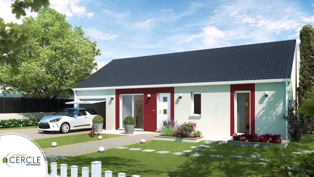 maison pas cher  Design 80 4