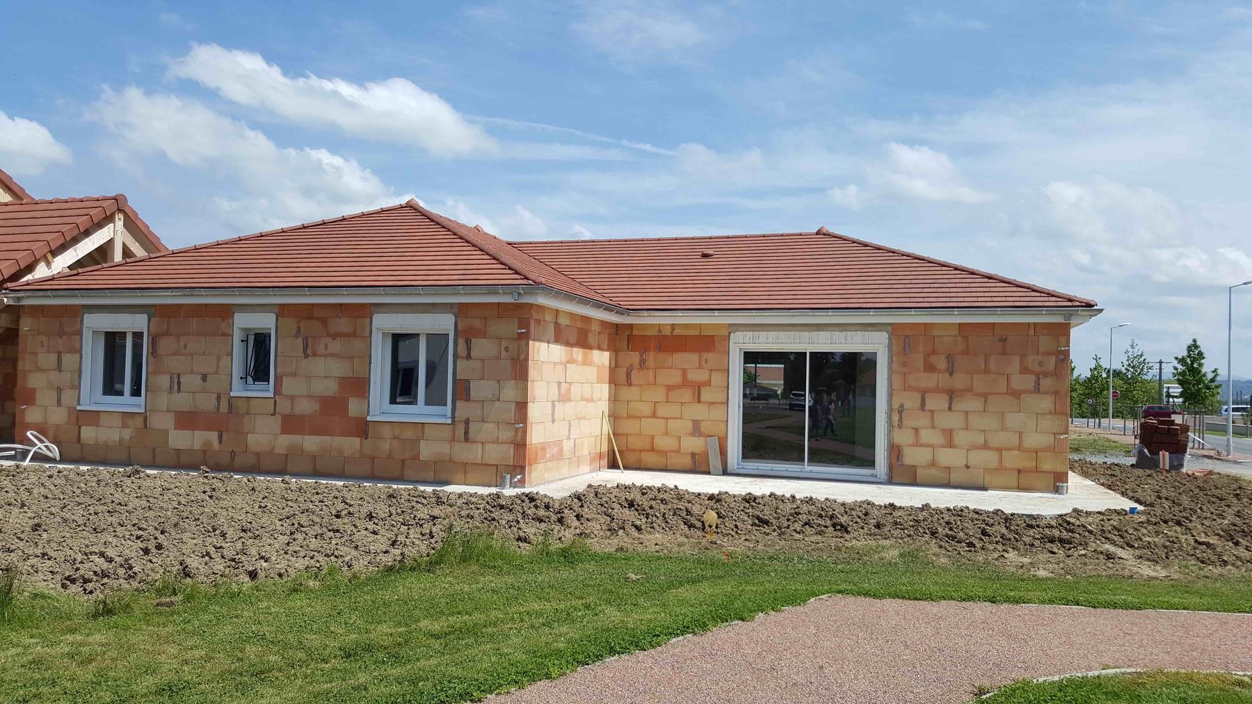 Maison en construction 120m2 Charmeil (03) secteur Vichy