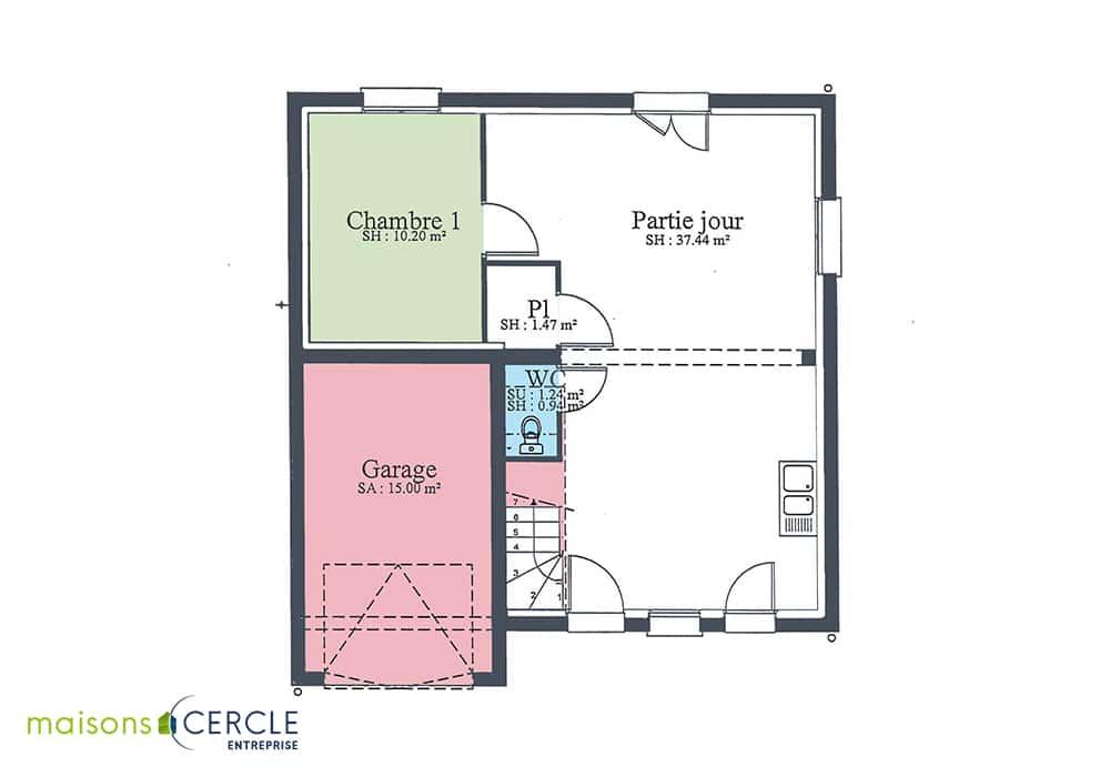 Maison Design - RDC