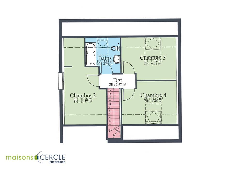 Maison Design - Etage
