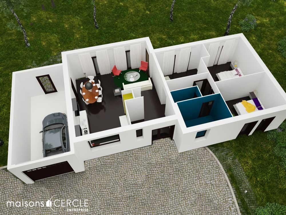 Modèle maison 3D