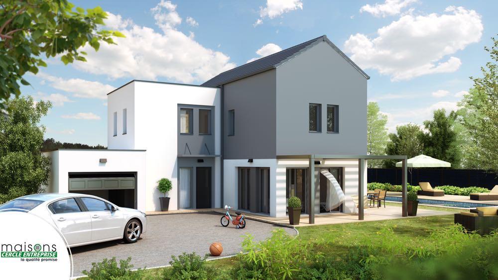 Senza maison moderne tage for Modele maison d architecte