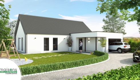 Maison contemporaine mod les et plans cercle enteprise for Maison moderne 250m2