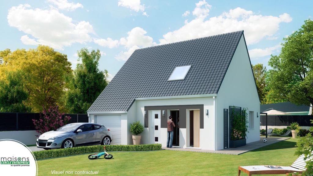 Castellane maison avec tour de style provencale for Modele maison etage contemporaine