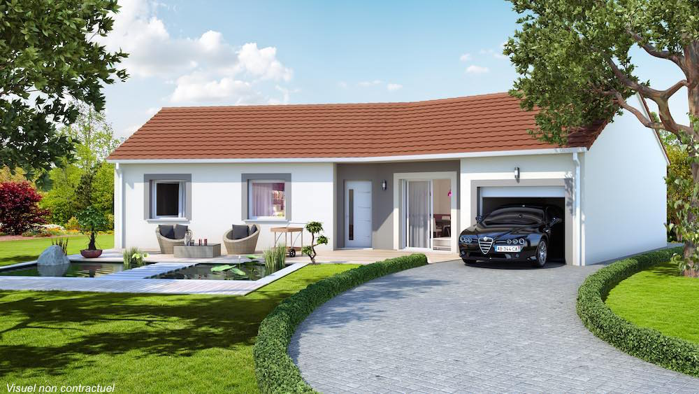 Terrain maison budeli re 23 - Forme de toiture maison ...