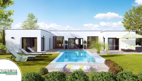Maison contemporaine mod les et plans cercle enteprise for Photos contemporaines
