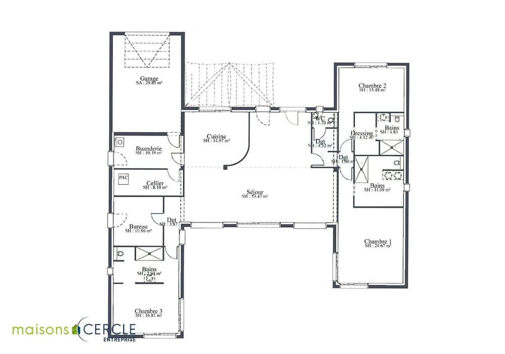 Modèle maison Estetia