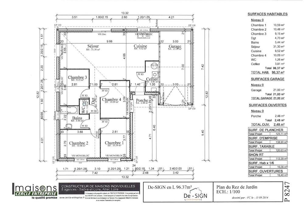 MCE-96 L plan