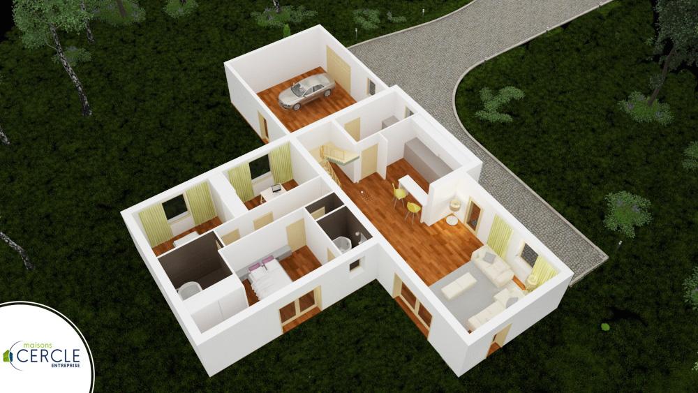 Terra Modele De Maison En T