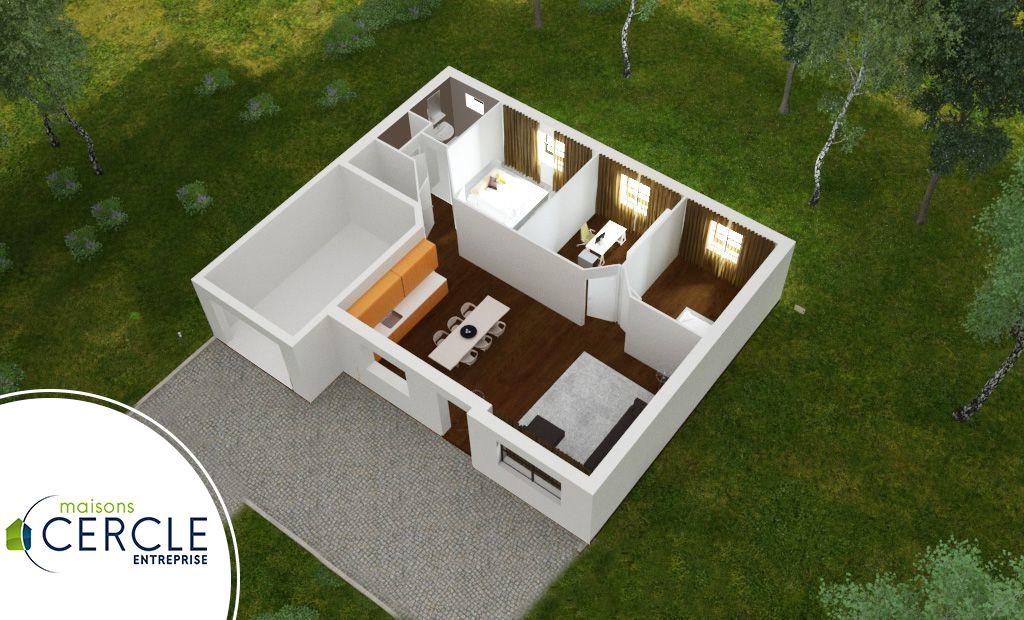 design 75 maison pas cher. Black Bedroom Furniture Sets. Home Design Ideas