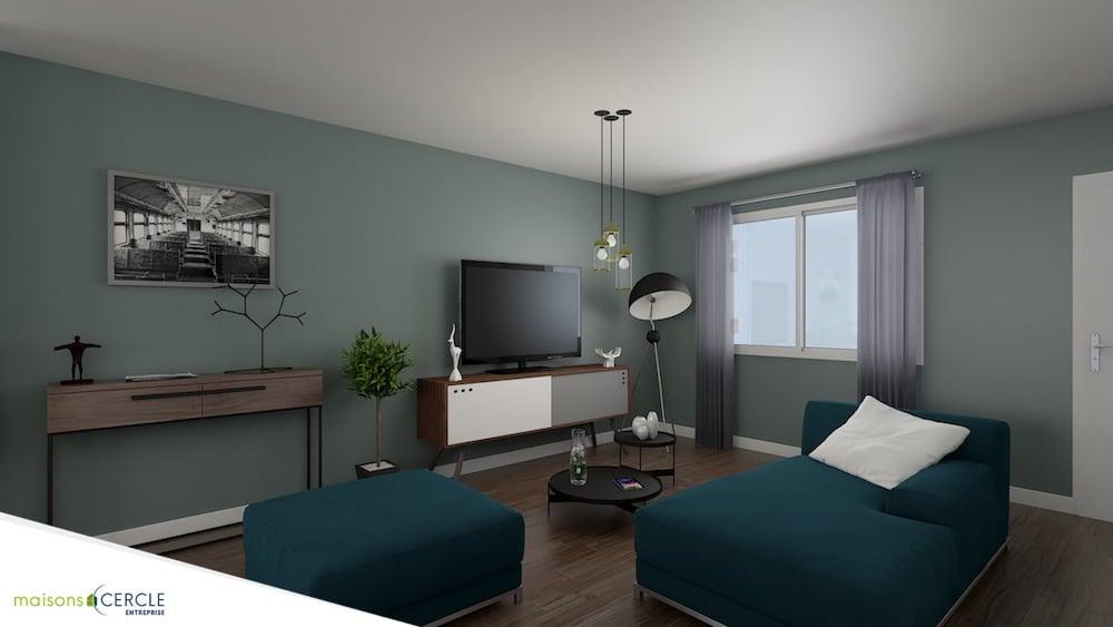 Vue 3D Plan Maison Design 80 2