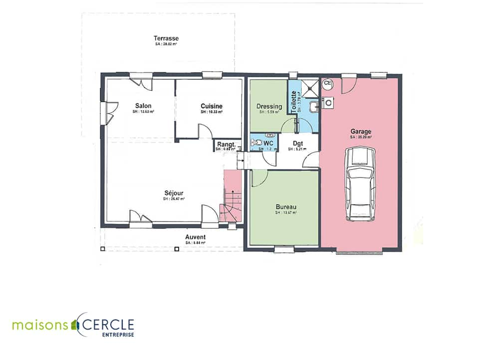 Plan maison syrah