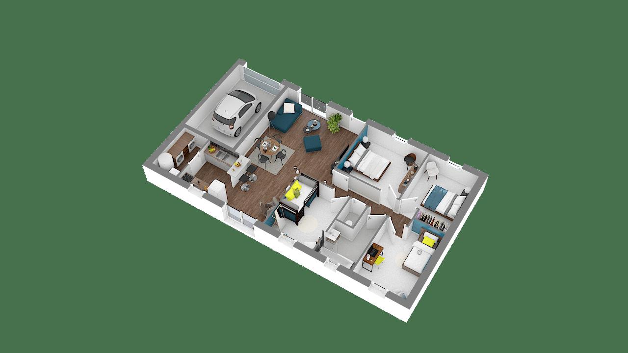 Design 90 maison low cost 2