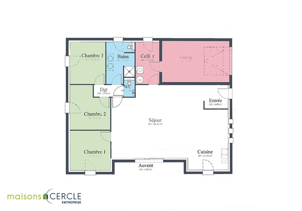 Modèle de maison Persan