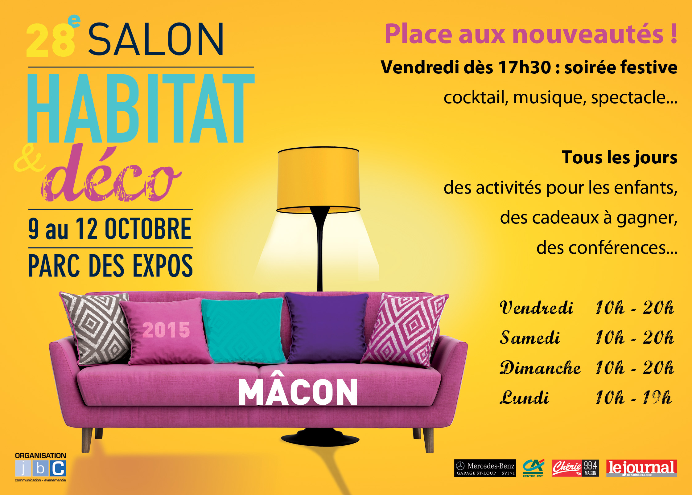 Macon salon de l 39 habitat for Salon de l habitat laval