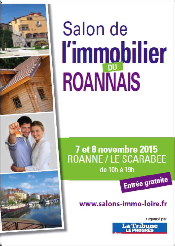 Salon de l 39 immobilier roanne for Salon de immobilier