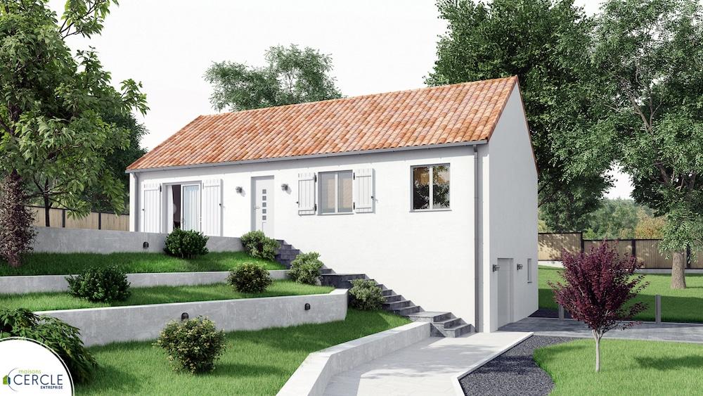 Terrain Maison De 440 M A Perrier 63500