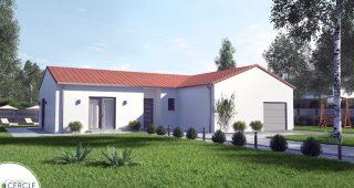 Modele de maison Malaga front angle