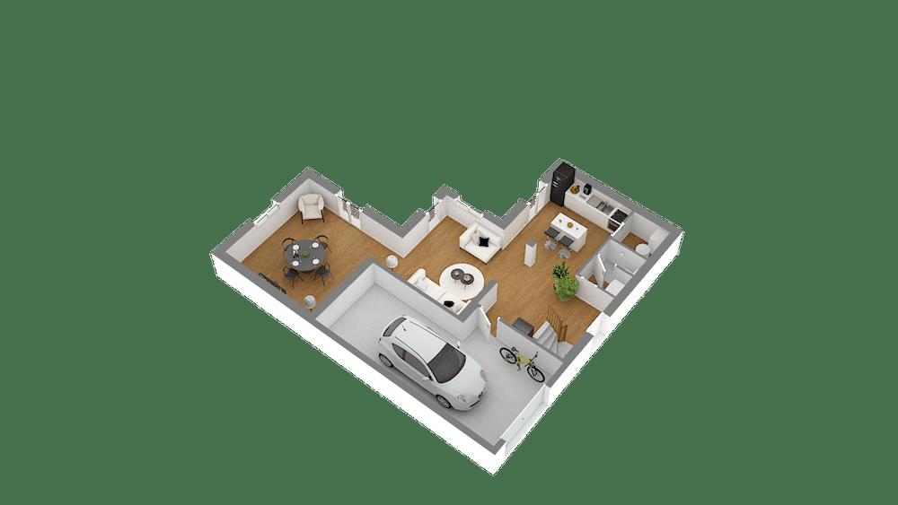 plan maison Cairanne_f5