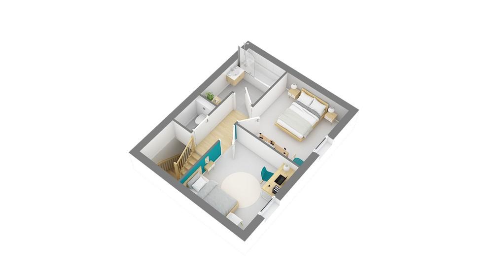 Florentale maison traditionnelle bourgeoise a etage (5)