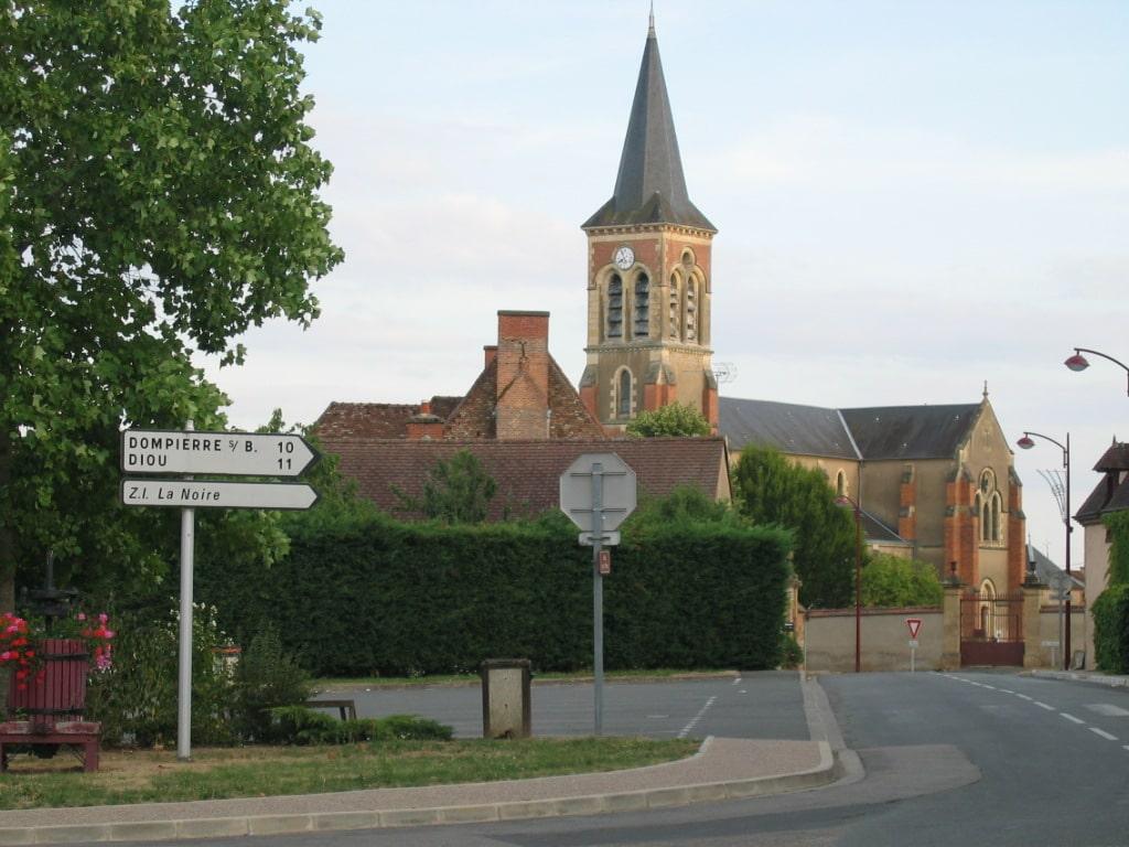 Vue de Beaulon